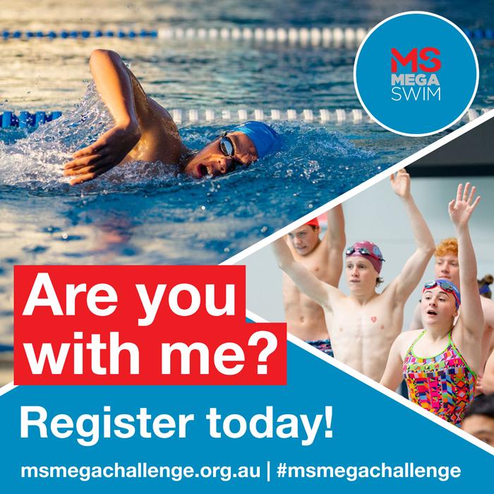 MS Mega Challenge - social tiles - swim - register today