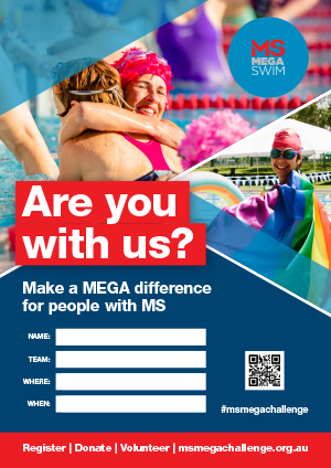 MS Mega Swim  -  Are you with us?