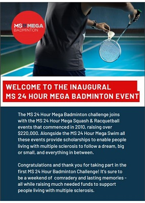 MS Mega Badminton - Event Guide