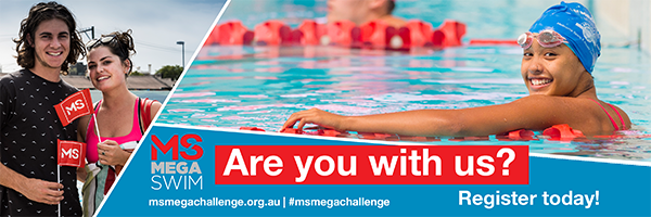 Mega Challenge - participant banner - Swim
