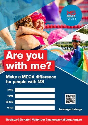 MS Mega Swim  - Are you with me?
