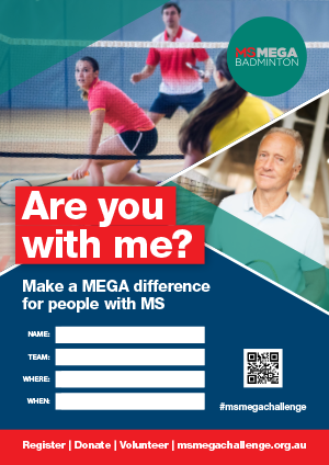 MS Mega Badminton - Are you with me?